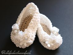 Tickled Pink: Angel Baby Shoes...