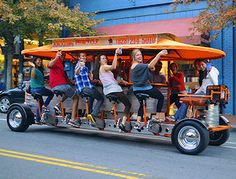 Asheville Pubcycle---Looks like a lot of fun!
