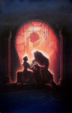 LOVE this image - Beauty and the Beast :) Princess Belle Disney Art   This is my ALL TIME FAVORITE Disney Movie! :)