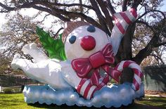 Mr. Bingle, City Park, New Orleans.    Read more about the Holiday Icon, Mr. Bingle:  http://www.gonola.com/2010/12/22/nola-history-mr-bingle-the-new-orleans-christmas-icon.html