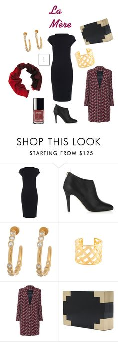 """Mere LBD"" by tishjett on Polyvore featuring Les Copains, Jimmy Choo, MIJA, Kenneth Jay Lane, Tara Jarmon, Kayu and Begg & Co"
