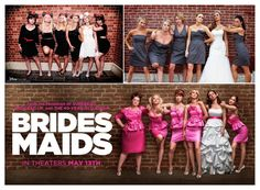 Fun idea for a wedding day photo. Practice the pose on the Hens Night. Perform it on the day. #weddingphotoidea