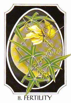 8. Fertility (Ingwaz) - Rune Cards by Ralph Blum Illustrated by Jane Walmsley