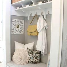 Coat closet transformed