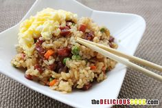 The Delicious Cook | Chef Ronnie Woo | The Delicious Cook | Mom's Fried Rice