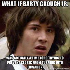 Harry Potter meets Twilight meets Doctor Who in a meme! FAN-TASTIC!