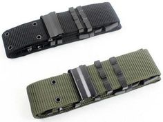 Nylon Web Tactical Heavy Duty Belt Metal Eyelets Police Tactical Military Belt with Quick Release Plastic Buckle //Price: $17.99 & FREE Shipping // #hunting #camping #outdoors #pocketdump #knives #knifeporn