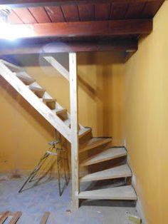 Superbe Escaleras De Madera En Espacios Reducidos