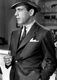 "Humphrey Bogart. ""Here's looking at you, kid"" - Casablanca"