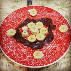 Banana com Nutella gourmet rs By @m.antonio.bor_break  by robertalarisse