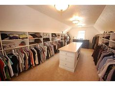 Ladies, this closet can be yours! Take a look at this spacious #homeforsale in #Carmel, Indiana. For more photos and information, visit http://www.ferrispropertygroup.idxco.com/idx/17180/details.php?idxID=178&listingID=21304696
