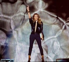 Celine Dion, Trench Jacket, Leather Pants, Black Jeans, Hipster, Coat, Jackets, Instagram, Music