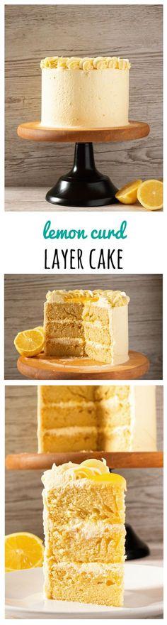 Lemon Curd Layer Cake – MinelaBakes