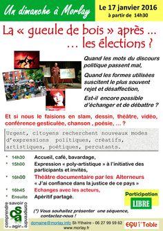 """""""Dimanche à Morlay"""" le 17 janvier 2016 à Saint-Ythaire."""