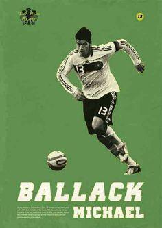 Michael Ballack of West Germany wallpaper. Retro Football, Football Art, World Football, Football Players, Sven Bender, Lars Bender, Michael Ballack, Arsenal, Soccer Images