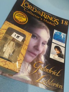 Collectors Hand Painted Lead Model Magazine LOTR Eaglemoss 18 Galadriel in Collectables, Fantasy/ Myth/ Magic, Lord of the Rings/ Tolkien   eBay