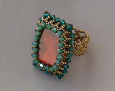 Sidonia's handmade jewelry - How to bezel a Swarovski square cabochon Simple Jewelry, Cute Jewelry, Diy Jewelry, Beaded Jewelry, Jewelry Design, Fashion Jewelry, Jewelry Trends, Jewelry Logo, Jewelry Quotes