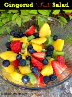 The most delicious fruit salad you will ever eat! #cleaneating #weightloss