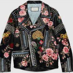 90b90d0b98999  gucci  biker  leatherjacket  fashionshow  fashion  backstage  designer   style