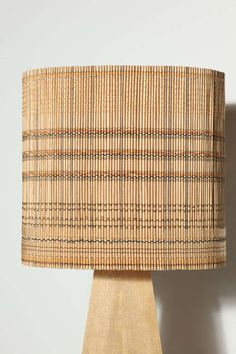Chaing Saen by Anne et Vincent Corbiere at Bamboo light Home Lighting, Lighting Design, Bamboo Light, Woven Shades, I Love Lamp, Bamboo Furniture, Lamps For Sale, Lampshades, Lamp Design