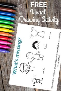 What's Missing Visual Motor Activity for Kids
