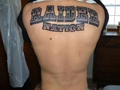 Raiders Tattoos for Girls | Raiders Nation Tattoos Raider nation tattoo
