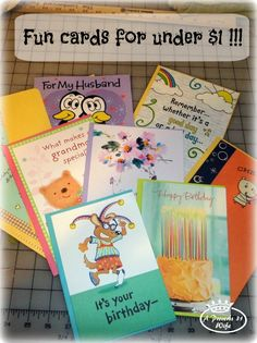 Send a card and greetings with the 0.49 and 0.99 Hallmark value cards at Walmart!  #ValueCards #shop
