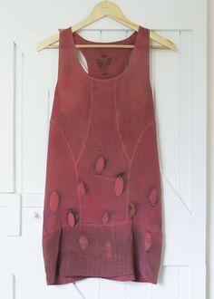 Silk tunic - brick red Silk Tunic, Fit Women, Brick, Red, How To Wear, Fashion, Maori, Moda, Fashion Styles