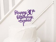 Wooden Cake Toppers, Custom Cake Toppers, Wedding Cake Toppers, 30th Birthday Cake Topper, Birthday Backdrop, Happy Birthday Name, Acrylic Cake Topper, Party Shop, Cake Smash
