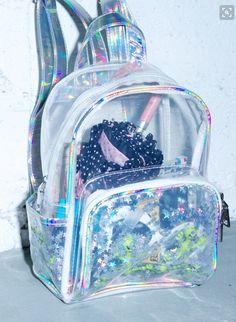 DollsKill: Aliens R Watchin' Backpack - 2019 Cute Mini Backpacks, Girl Backpacks, Backpack Bags, Fashion Backpack, Rucksack Bag, Pouch Bag, Clear Bags, Girls Bags, Cute Bags