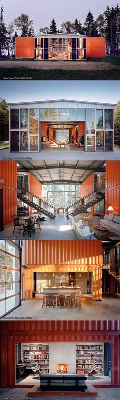 Container House - container house by adam kalkin - Who Else Wants Simple Step-By-Step Plans To Design And Build A Container Home From Scratch? #ContainerHomeDesigns