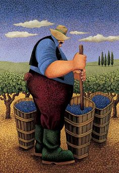 Lowell Herrero (American, born 1921) ~ The Crush