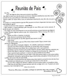 MENSAGEM PARA REUNIÃO DE PAIS YouTube Organize Life, Fairy Tales For Kids, Spanish Activities, Family Love, Raising Kids, Kids Education, Pre School, Love Life, Homeschool