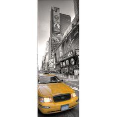 Sticker de porte: trompe l'oeil déco, informez vous sur nos stickers portes, larges gammes de stickers por porte Deco New York, Planes, Deco Stickers, New York Taxi, Inspiration, Robin, Deceit, Eyes, Airplanes
