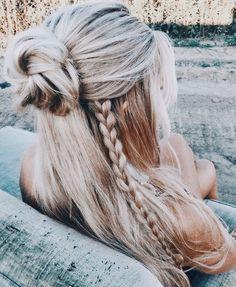 Single braid.