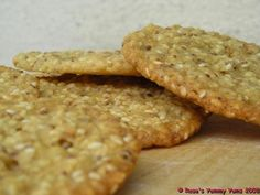 South African SESAME COOKIES