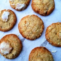 Lemon Crackle Cookies With Cardamom Crackle Cookies, Recipe Of The Day, Biscuits, Muffin, Spices, Lemon, Baking, Breakfast, Desserts