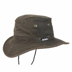 525d2ba8d06 Conner Hats Men s Bounty Hunter Water Resistant Cotton Hat Review ...