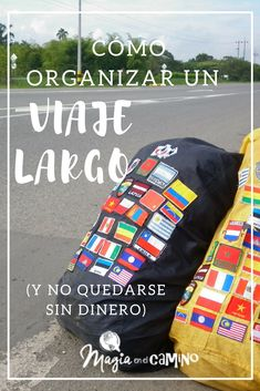 ¿Estás planificando un viaje largo? Te damos consejos e ideas para organizarlo, ahorrar dinero en el camino y generarlo. #viajar #mochileros #viajarbarato #viajelargo #consejos #viajar Travel Packing, Travel Backpack, Travel Advice, Travel Guide, Travel Hacks, Albert Schweitzer, Travel Patches, Travel Itinerary Template, Worldwide Travel