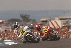 Kevin Schwantz and マッケンジー