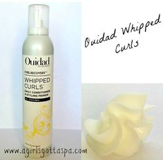 Ouidad Whipped Curls #Review #haircare