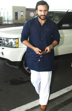 Photos: Varun Dhawan, Saif Ali Khan and Dia Mirza at Mumbai airport