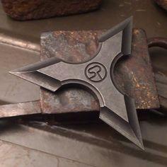 Custom Shuriken :) any interest? #sergeknives #shuriken #throwingstar