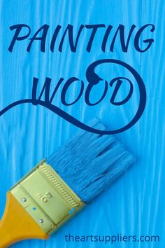 Painting wood  Paint as wood stains   Paint on wood diy  Wood painting techniques  Wood painting
