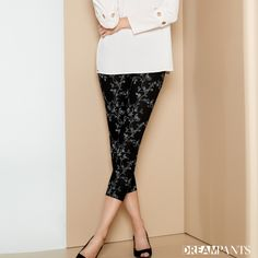 Your dream pants,Lisette L Pants flatten and flatter.They slim the abs,contours the hips and shape the behind. Wrinkle-free fabrics with genius construction Flatter Stomach, Rose Embroidery, Tea Roses, Ankle Pants, Paisley Print, Stripe Print, Fashion Pants, Blue Denim, Thighs