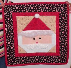 Santa Face Applique Pattern | Santa Face - Page 2