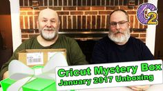 """Cricut Mystery Box - January 2017 Unboxing - http://www.craftsbytwo.com/cricut-mystery-box-january-2017-unboxing/  Want more presents to open after the holidays? Check out the January Mystery Box from Cricut! Join us to see what we received!  Visit our blog for easy shopping links, the best coupon code, and a gallery and list of the contents if you don't want to watch the video!  Check out """"Cricut Mystery Box - January 2017 Unboxing"""" on the Crafts By Two website at: htt"""