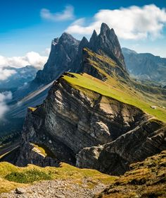 Seceda - Dolomites by Cludes Tomato (Italy)