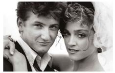 They were married for over four years in the But on Friday night, Madonna told Sean Penn — and a crowd full of celebrities — that she still loves him and would marry him again. Hollywood Actor, Hollywood Actresses, Actors & Actresses, Sean Penn, Michigan, Madona, Madonna Music, 1980s Madonna, Movie Couples