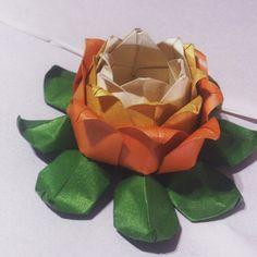 Origami Lotus flower flor de loto